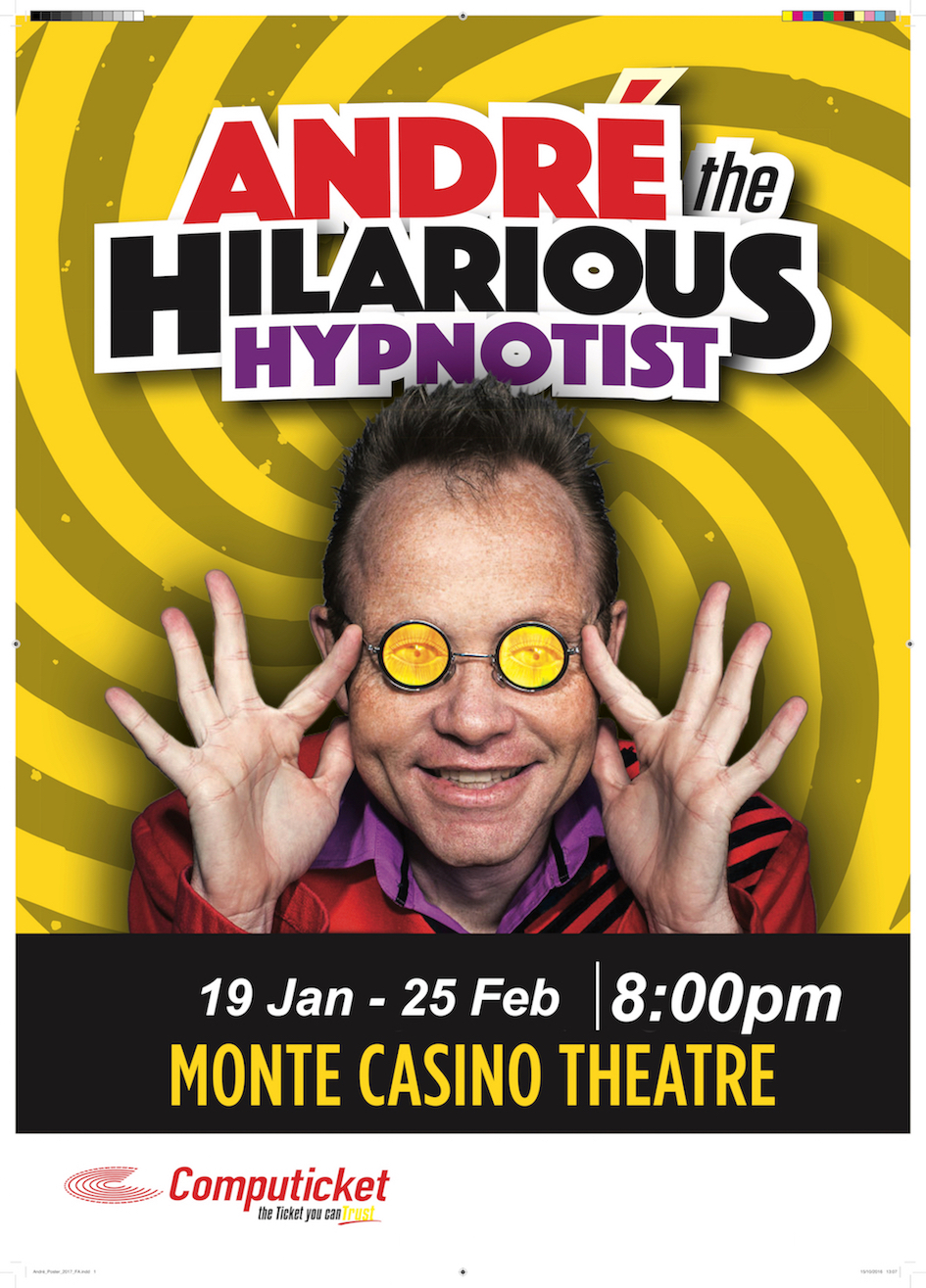 HILARIOUS HYPNOTIST CELEBRATES 25 YEARS
